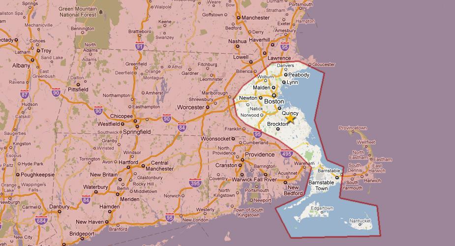 North Shore Ma Map Car Tuning